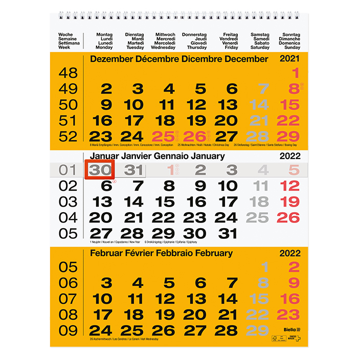 Visualizza Calendario.Biella Calendario Con Visualizzazione Di 3 Mesi Online