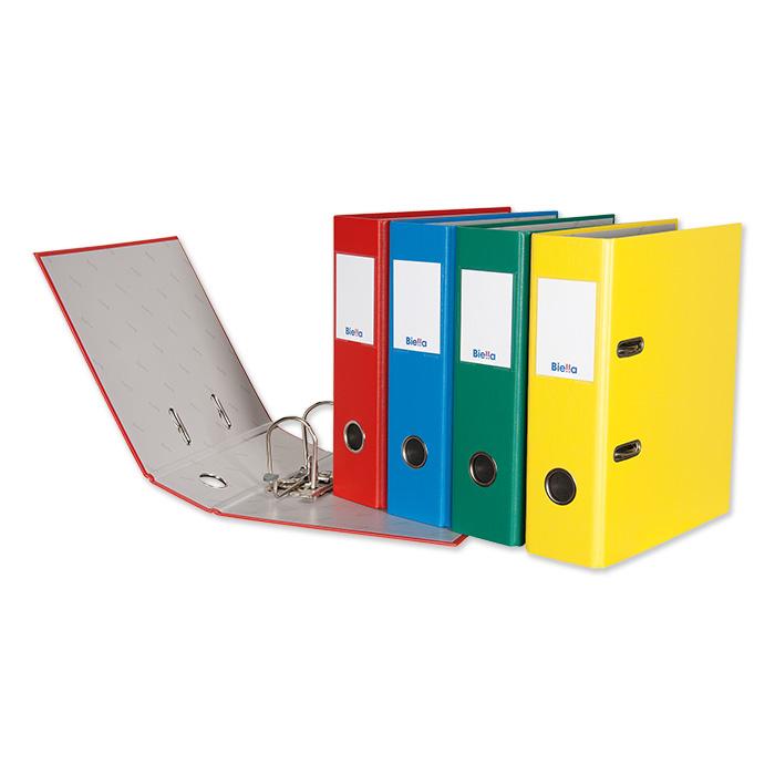 Biella Lever Arch File Plasticolor A5