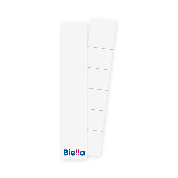 Biella Insertable spine label long 27 x 143 mm