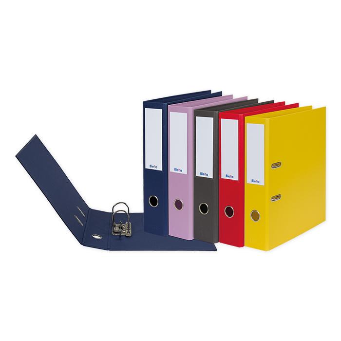 Biella Lever Arch File Recycolor