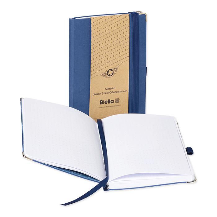 Biella Notizbuch Sketch dunkelblau