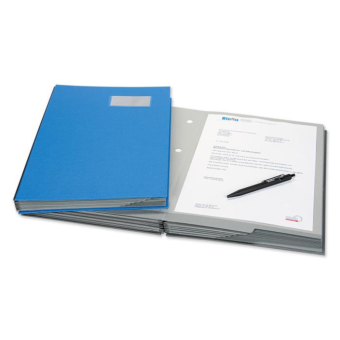 Biella Unterschriftenmappe Karton