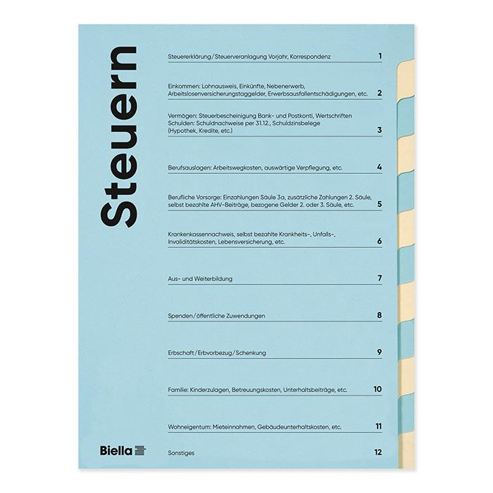 Biella tax folder