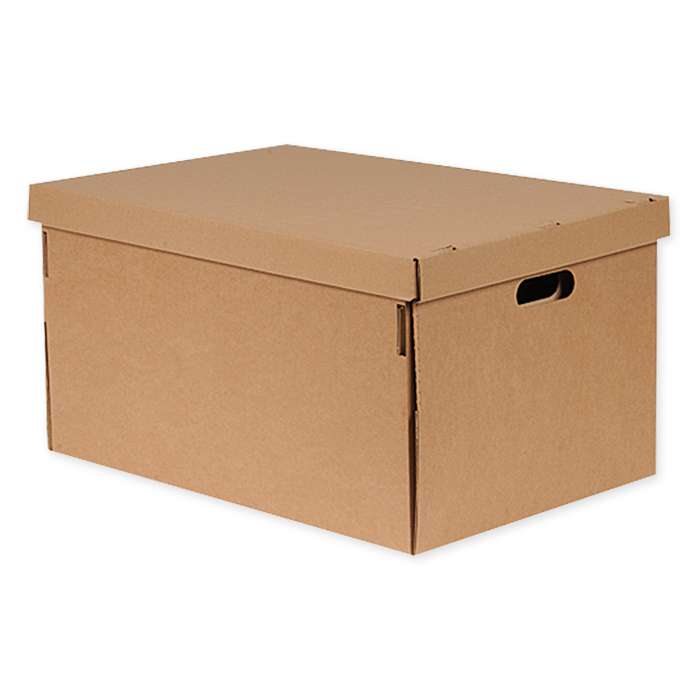 Brieger Extra-strong lids for transport boxes, reusable 578 x 391 x 40 mm