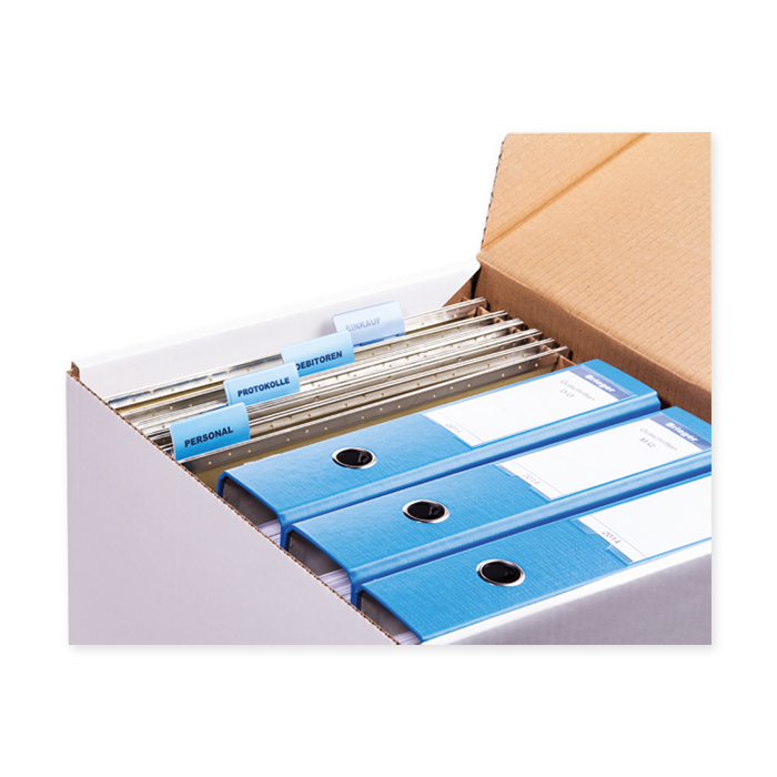 Brieger Folder box for hanging file