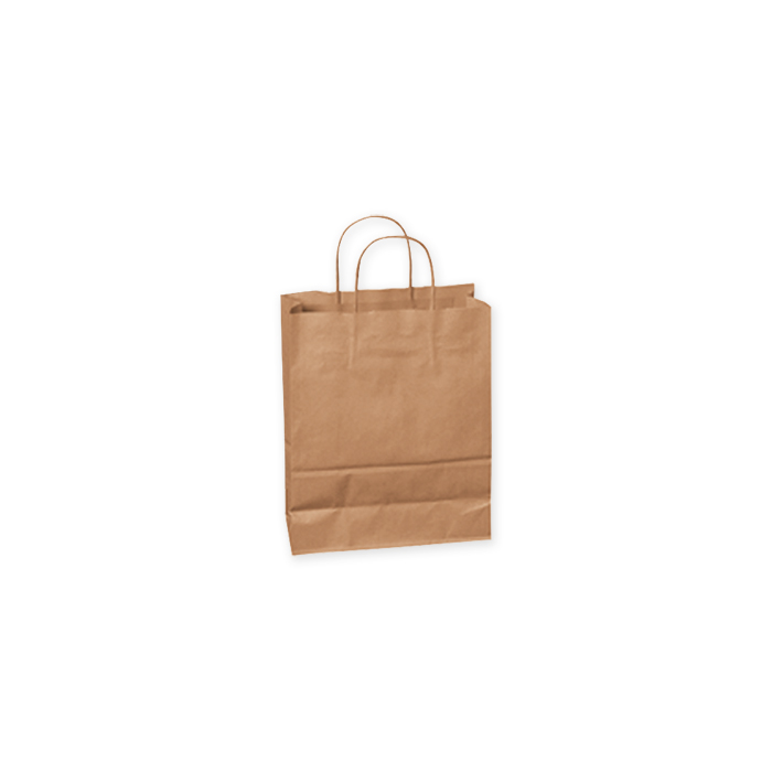 Brieger Kraft paper carrier bags