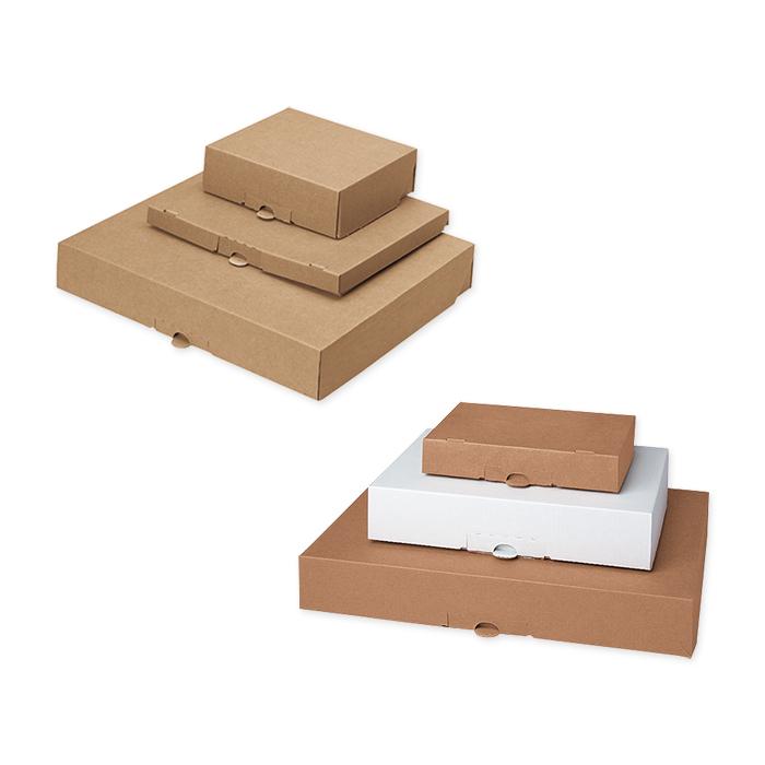 Brieger Light flap boxes, single corrugation