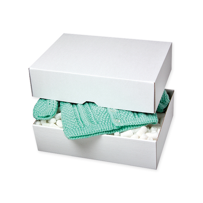 Brieger Sleeve boxes, single corrugation