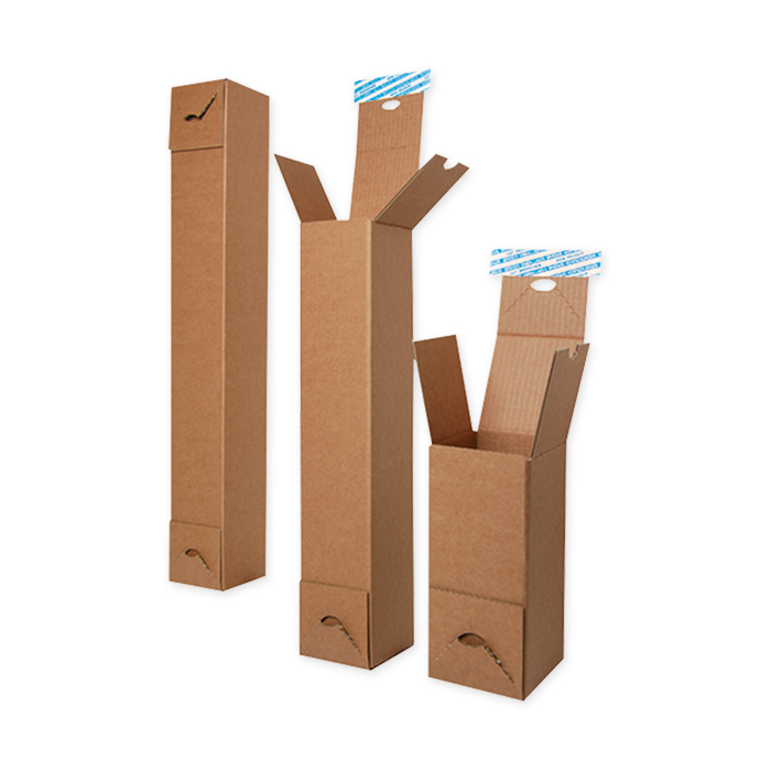 Brieger Square sleeve with self-adhesive strip