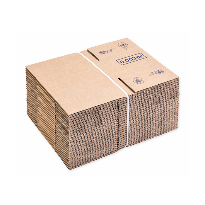 Brieger Standard boxes, single corrugation