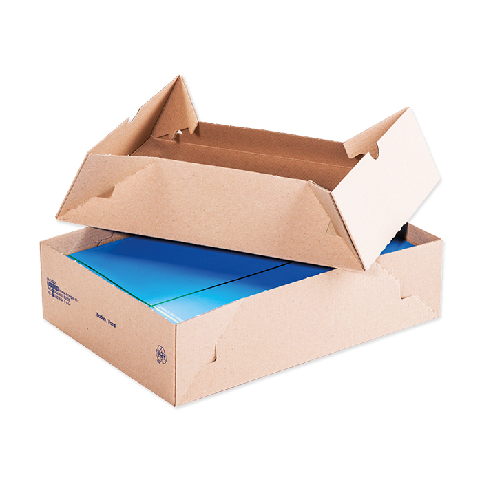Brieger collapsible boxes