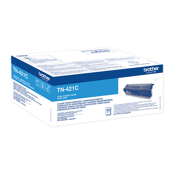 Brother Toner TN-421 / 423 cyan, 1800 pages