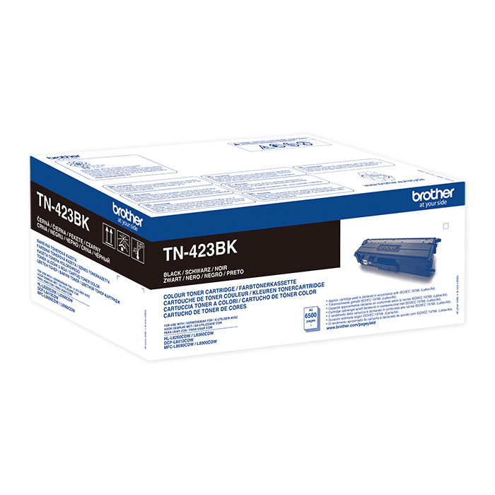 Brother Toner TN-421 / 423 HY black, 6500 pages
