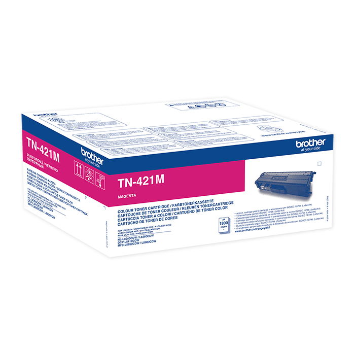 Brother Toner TN-421 / 423 magenta, 1800 pages