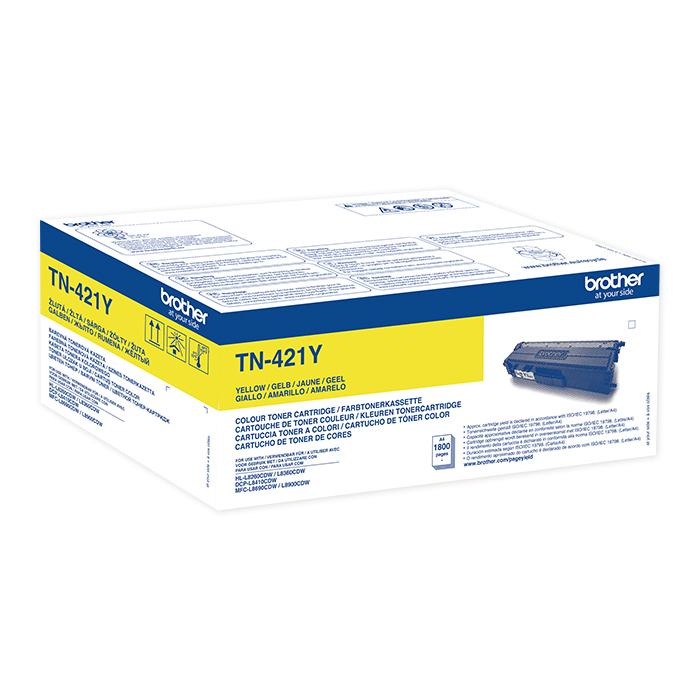 Brother Toner TN-421 / 423 yellow, 1800 pages