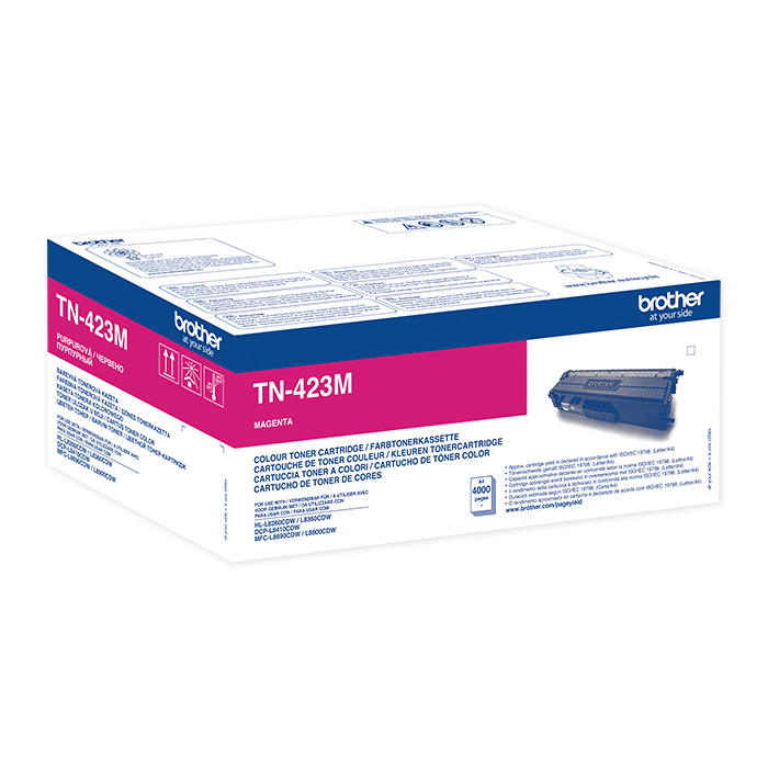 Brother Toner TN-421 / 423 HY magenta, 4000 pages