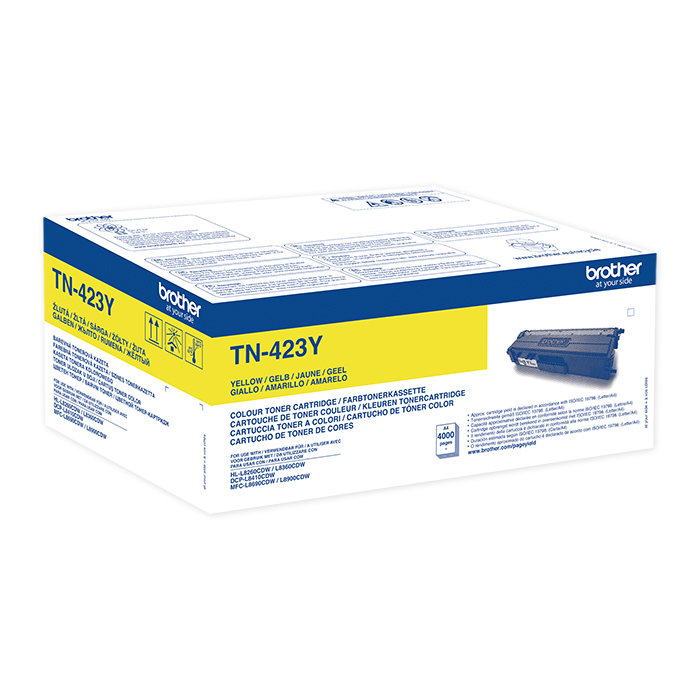Brother Toner TN-421 / 423 HY yellow, 4000 pages