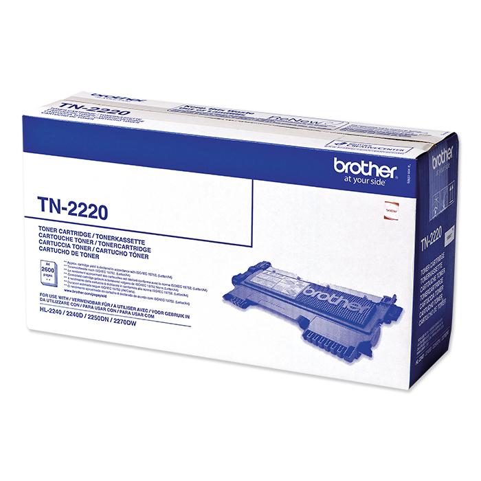 Brother Toner / Drum TN-2210 / TN-2220 / DR-2200 black, 2600 Seiten, Toner