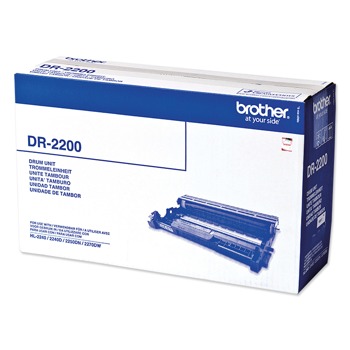 Brother Toner / Drum TN-2210 / TN-2220 / DR-2200 Black, 12,000 pages, Drum