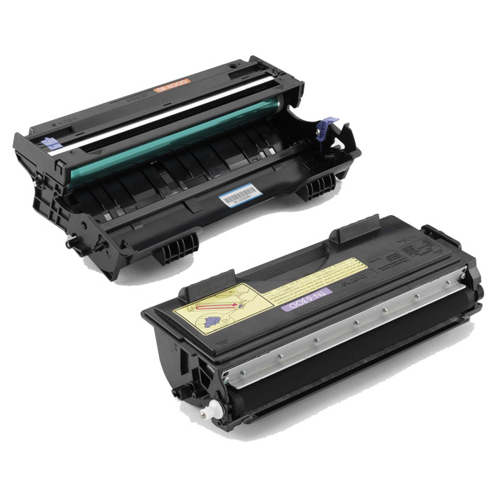 Brother Toner / Drum TN-6300 / TN-6600 / DR-6000 black HY, 6'000 Seiten, Toner-Modul