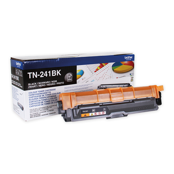 Brother Toner cartridge TN-241 black, 2500 pages