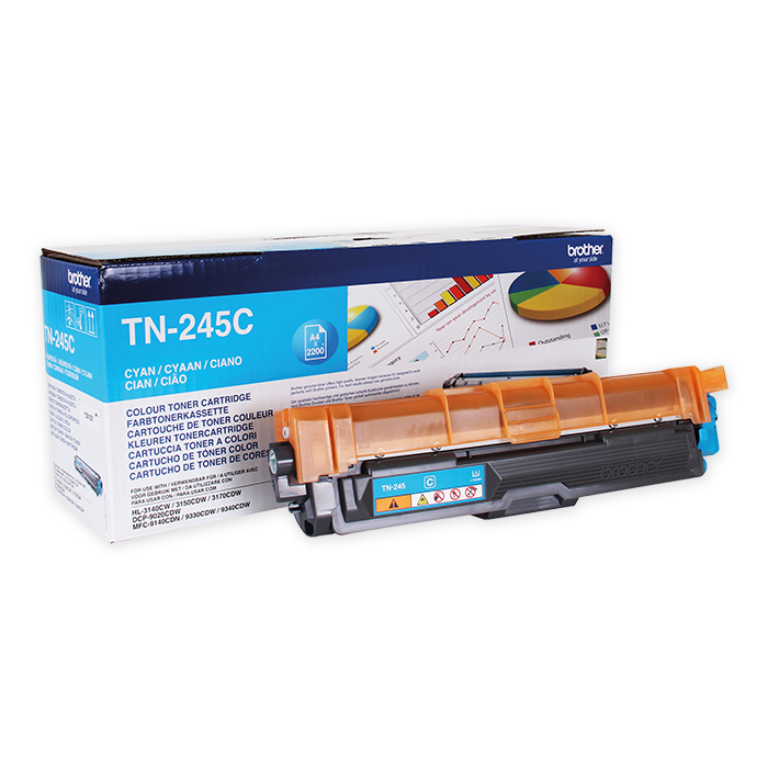 Brother Toner cartridge TN-241 cyan, 2200 pages