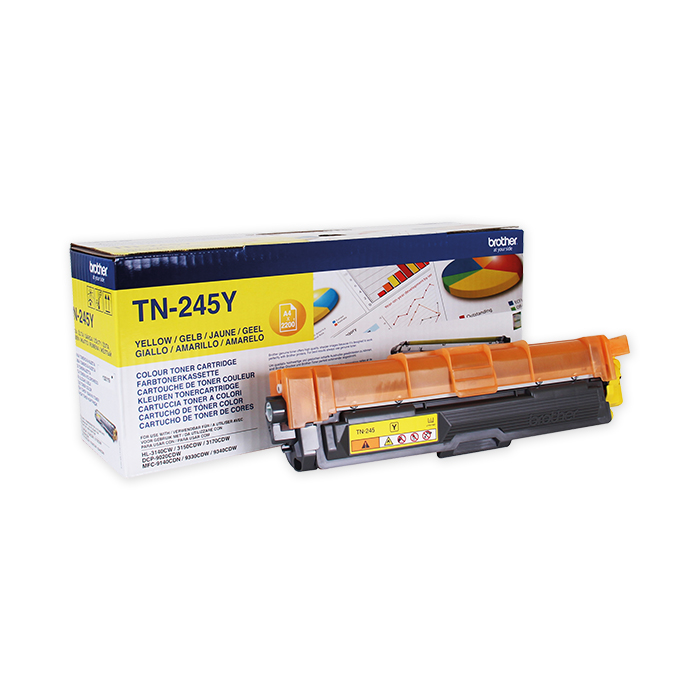 Brother Toner cartridge TN-241 yellow, 2200 pages