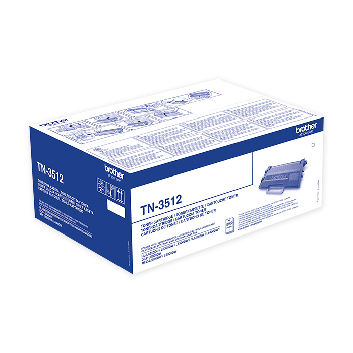 Brother Toner cartridge TN-3512 black, 12'000 pages