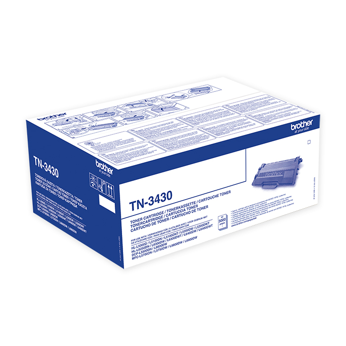 Brother Toner cartridge TN-3430 / 3480 black, 3'000 pages