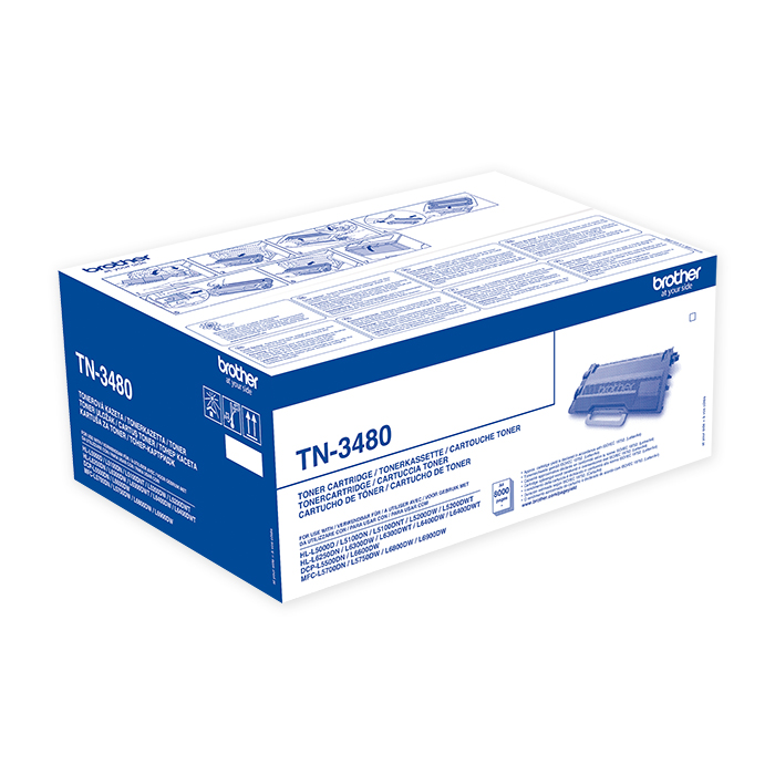 Brother Toner cartridge TN-3430 / 3480 black, 8'000 pages