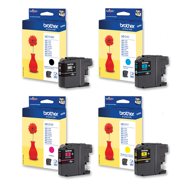 Brother ink cartridge LC-121