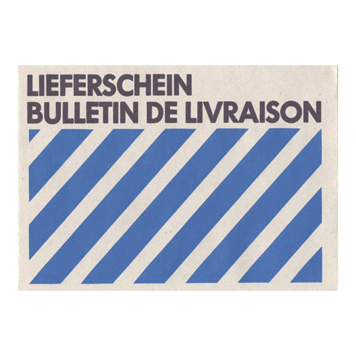 BüroLine Envelopes Delivery note / Invoice