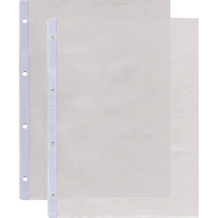 BüroLine Punched Pockets PVC