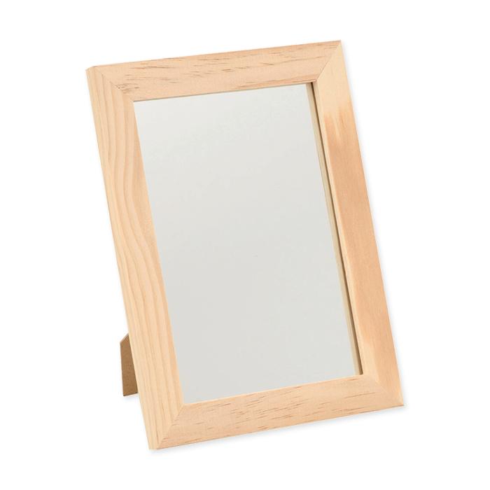 Cadre bois miroir glorex 29 x 34 5 cm online bestellen for Miroir online shop