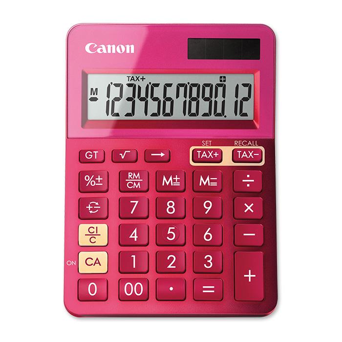 canon tischrechner ls 123k pink online bestellen schoch. Black Bedroom Furniture Sets. Home Design Ideas