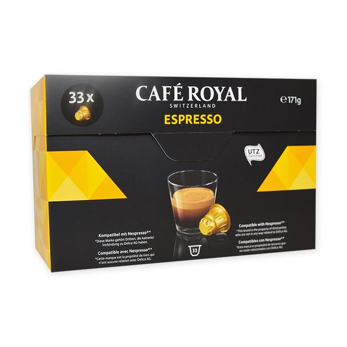 Capsule Café Royal