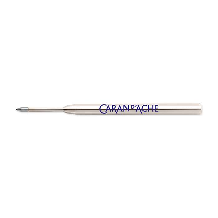 Caran d'Ache Ballpoint pen cartridge Goliath medium, blue