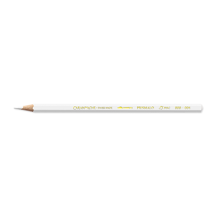 Caran d'Ache Colour pencil Prismalo Individual colours white*