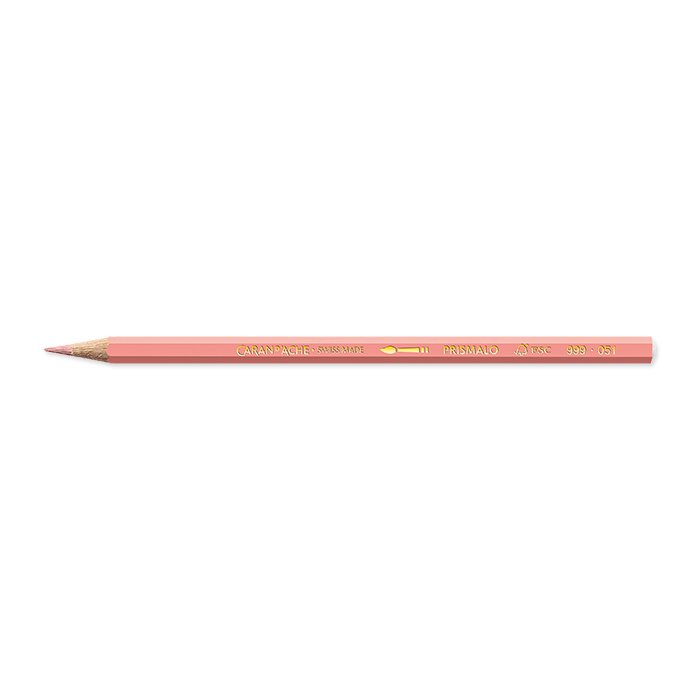 Caran d'Ache Colour pencil Prismalo Individual colours Salmon red