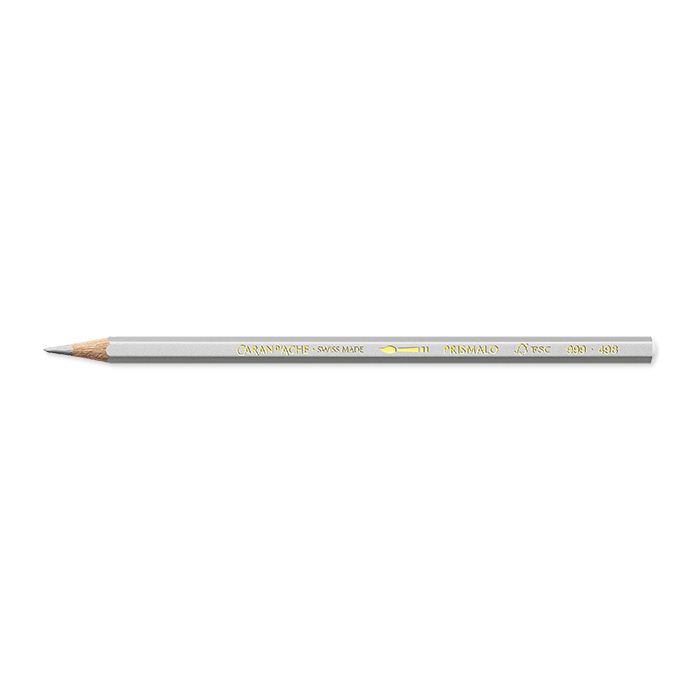 Caran d'Ache Colour pencil Prismalo Individual colours silver