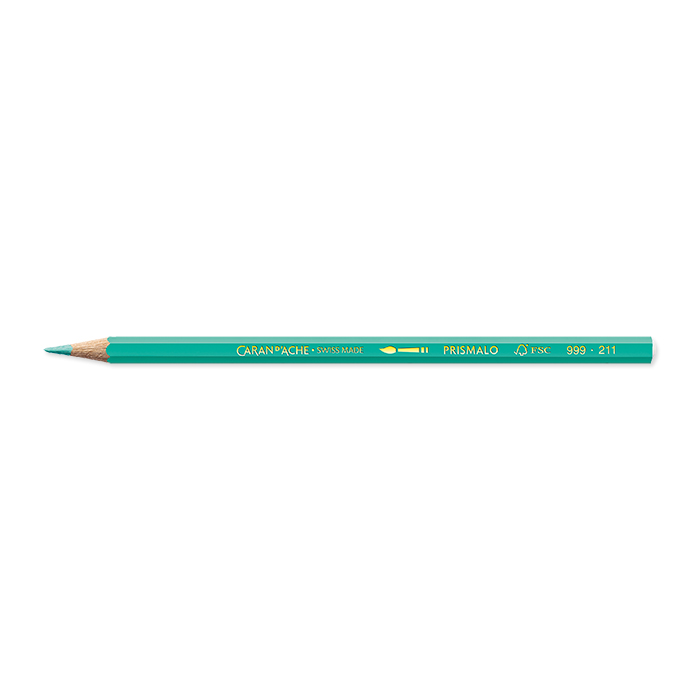 Caran d'Ache Colour pencil Prismalo Individual colours light green