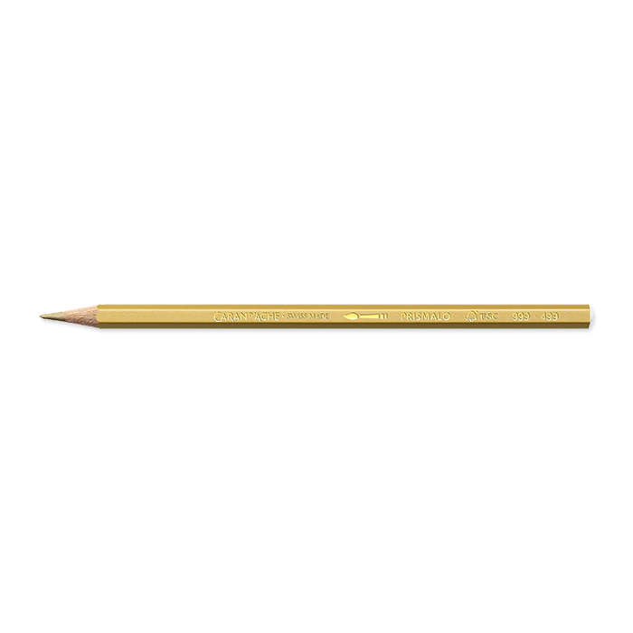 Caran d'Ache Colour pencil Prismalo Individual colours gold