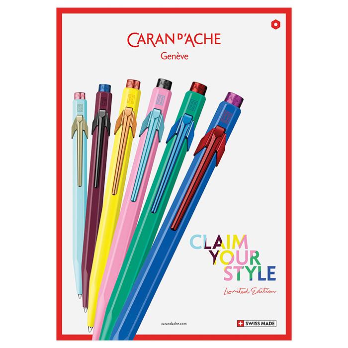 Caran d'Ache Kugelschreiber 849 Claim your Style Edition 2