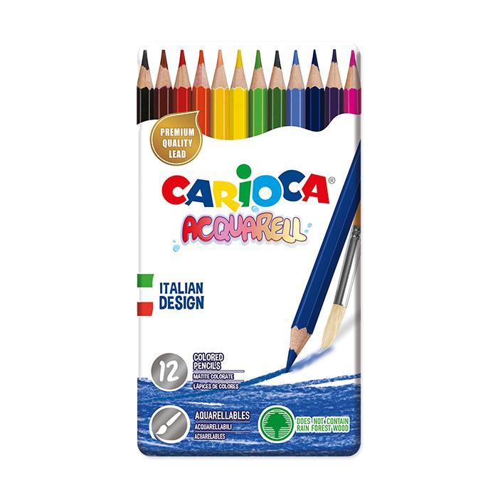 Carioca Colour pencil Acquarell