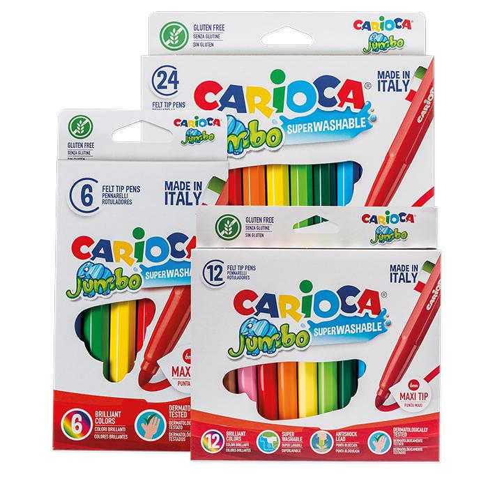 Carioca Fibre pens Jumbo