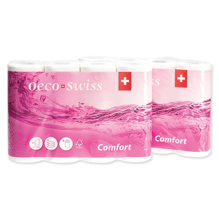 CartaSeta Rouleau papier essuie-tout Oeco Swiss Comfort