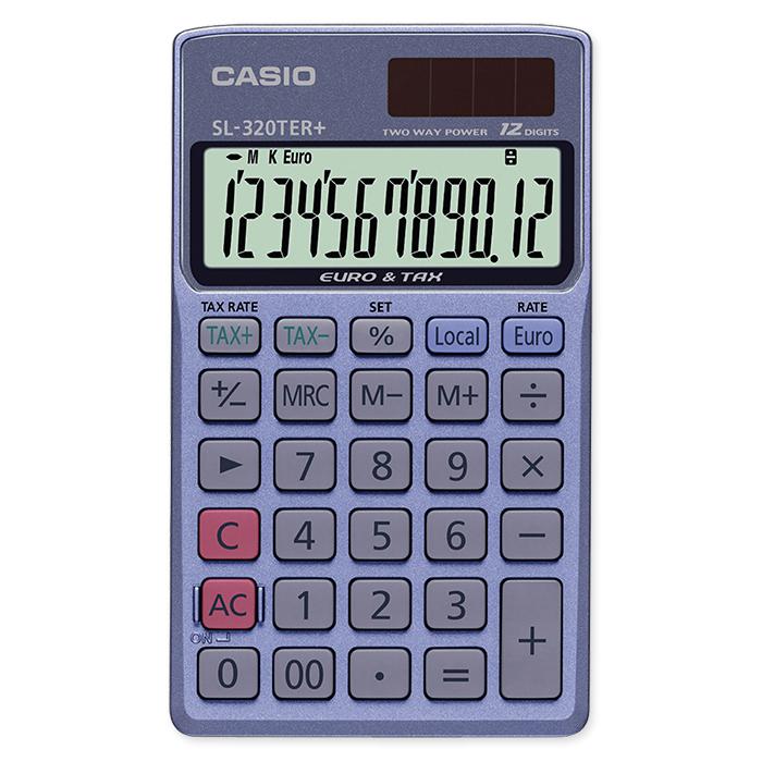 Casio Pocket calculator SL-320TER+