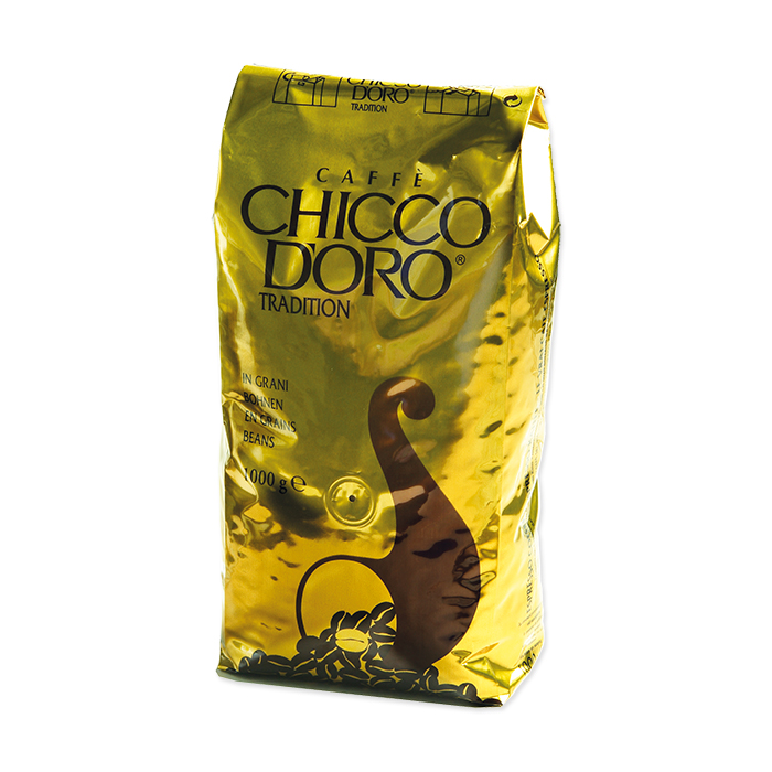 Chicco dOro coffee beans