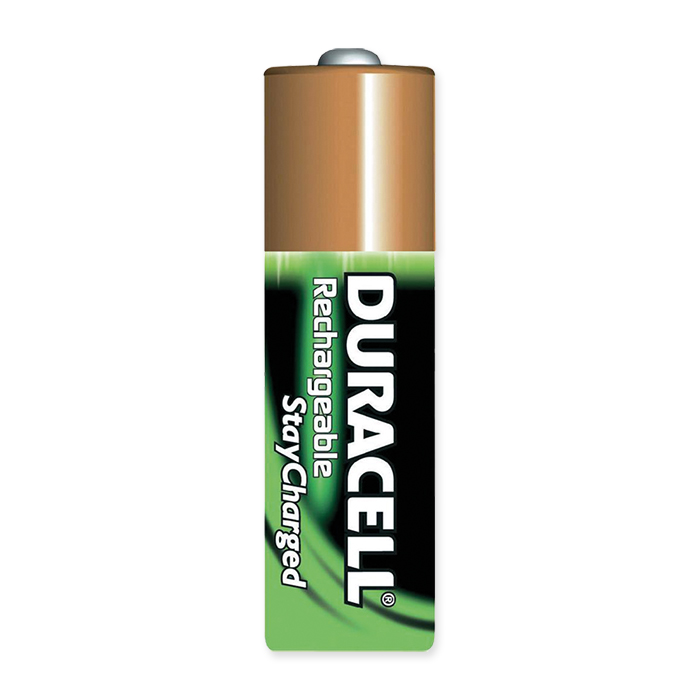 Duracell Rechargeable AA 2500 mAh, 2 pièces