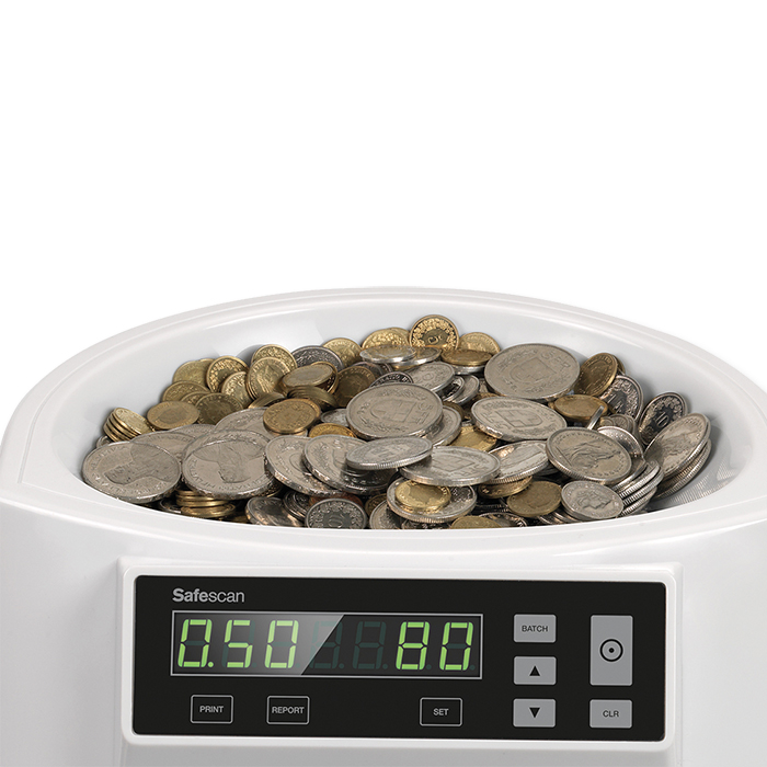 Compteuse de pièces Safescan – francs suisses